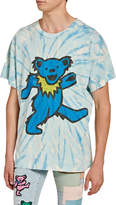 Amiri Men's Grateful Dead Bear Tie-Dye T-Shirt
