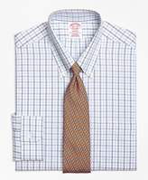 Brooks Brothers Non-Iron Madison Fit Alternating Check Dress Shirt