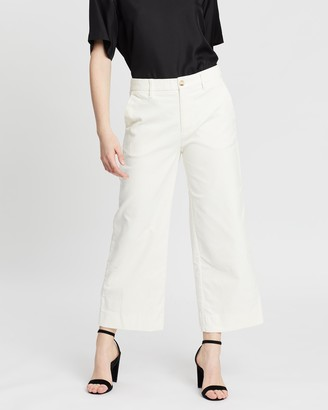 Banana Republic Everybody Wide Leg Cord Pants