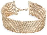 RJ Graziano Mesh Choker Necklace