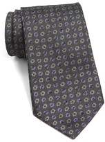 John Varvatos Men's Medallion Silk Tie