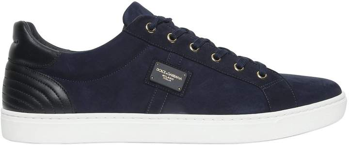 Dolce & Gabbana London Suede Sneakers