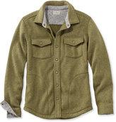 L.L. Bean Men's Bean's Sweater Fleece Shirt-Jac