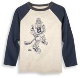Andy & Evan Toddler, Little Boy's & Boy's Big Foot Hockey Player Top