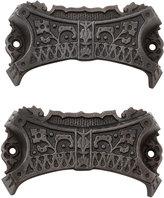 Rejuvenation Set of 2 Renaissance Revival Cast Iron Bin Pulls C1870
