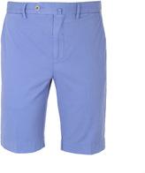 Hackett Amalfi Summer Blue Cotton Chino Shorts