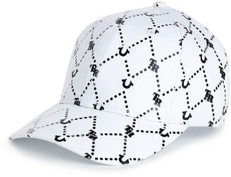 True Religion GRID REPEAT BASEBALL CAP