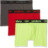 Umbro Men's Boxer packx3 Sports Underwear,S pack of 3