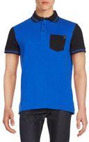 Versace Colorblock Polo Shirt