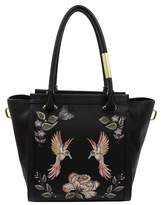 Foley + Corinna Taylor Embroidered Liberated Vegan Leather Tote