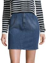 Zadig & Voltaire Women's Juny Bleu Cotton Skirt