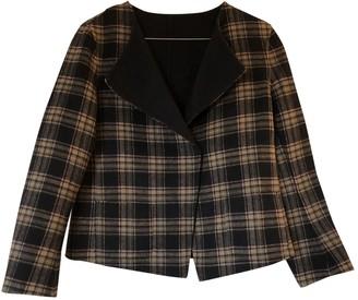 Max Mara Navy Wool Jackets