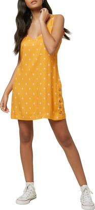 O'Neill Floral Print Sleeveless Minidress