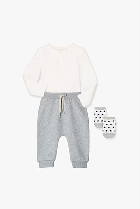 Country Road Paw Print Sweat Pant