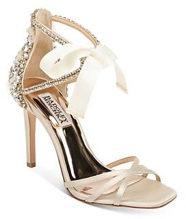 Badgley Mischka Women's Joanie Strappy High-Heel Sandals