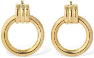 Laura Lombardi Grazia Xl Hollow Hoop Earrings