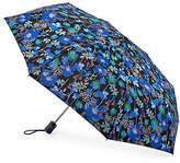 Fulton Violet Blooms Folding Umbrella