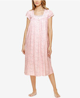 Eileen West Lace-Trimmed Ballet-Length Nightgown
