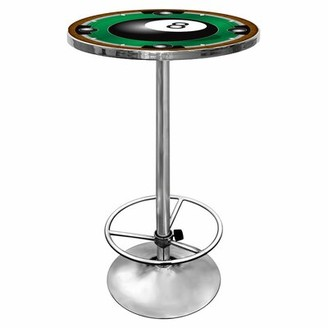 Trademark Global 8-Ball Pub Table with Foot Rest
