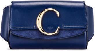Chloé C Belt Bag in Captive Blue | FWRD