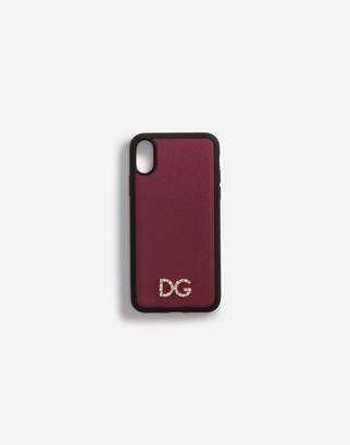 Dolce & Gabbana Dauphine Calfskin Iphone X Case