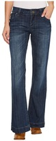 Stetson Pieced Back Pocket w/ Jagged Edge Detail Women's Jeans