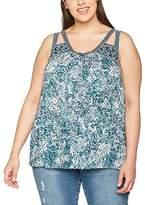 Evans Women's Sleeveless Print T-Shirt