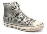 """Ash shoes """"Virgin Star"""" Soft Silver Leather Hgh Top"""