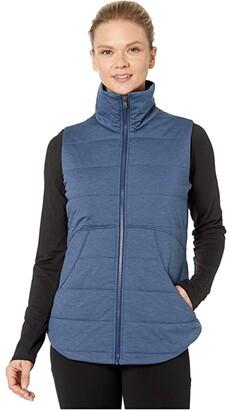 Marmot Visita Insulated Vest (Steel Onyx Heather) Women's Clothing