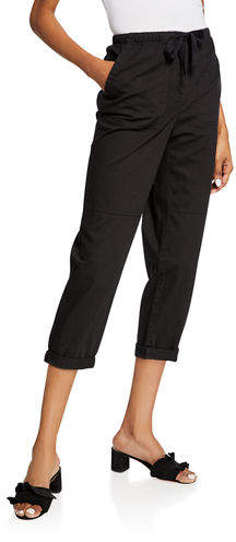 7d560657c9a352 Drawstring Cropped Pants - ShopStyle