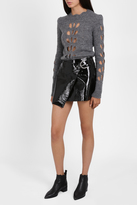 Isabel Marant Patent Mini Skirt