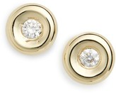 Roberto Coin Women's Tiny Treasures Diamond Stud Earrings