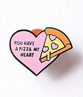 Pink Pizza My Heart Enamel Pin