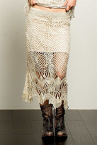 POL Open Crochet Skirt