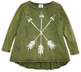 Ppla Girls' Acid Washed Arrow Tee - Sizes S-L