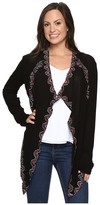 Rock and Roll Cowgirl Long Sleeve Cardigan B4-6404