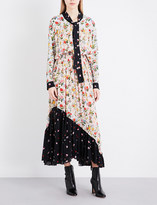 Preen Line Solange crepe dress