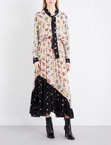 Preen Line Solange crepe dress