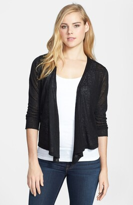 Nic+Zoe '4-Way' Convertible Three-Quarter Sleeve Cardigan