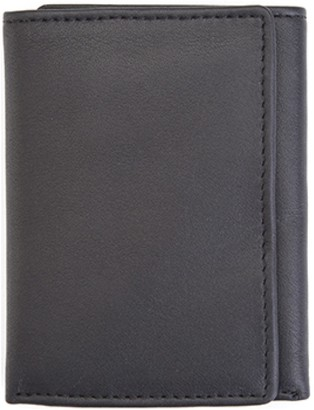 Royce Leather Royce New York Men's Leather Tri-Fold Wallet