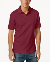 Club Room Short Sleeve Solid Estate Performance Sun Protection Polo
