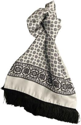 Dolce & Gabbana Grey Silk Scarves & pocket squares