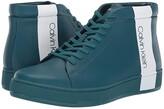 Calvin Klein Nilo (Ocean Nappa Smooth Calf/Logo Over Print) Men's Lace-up Boots
