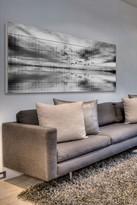 Parvez Taj Flight of Six White Pine Wood Wall Art