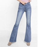 Express mid-rise bell flare jeans
