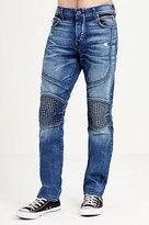 True Religion Geno Slim Moto Big T Mens Jean