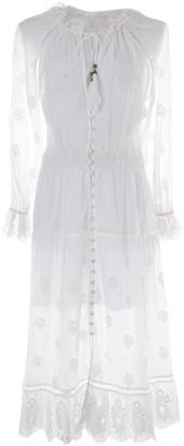 Zimmermann White Cotton Dresses