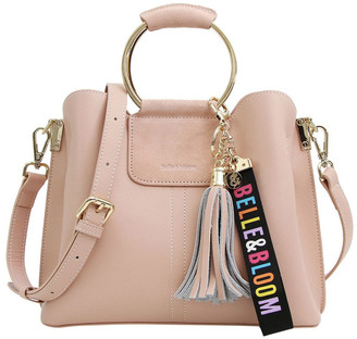Belle & Bloom TWI900PNK Twilight Blush Zip Top Crossbody Bag