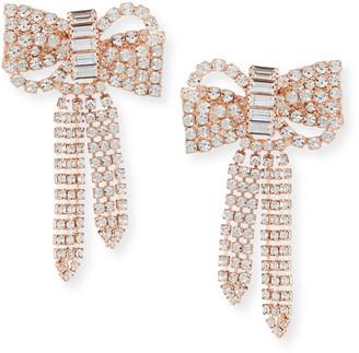 Jennifer Behr Lola Crystal Bow Earrings