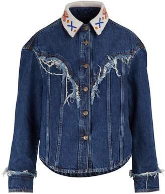 Alanui Cropped denim jacket